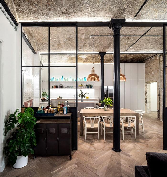 r novation d 39 une ancienne boulangerie en appartement. Black Bedroom Furniture Sets. Home Design Ideas