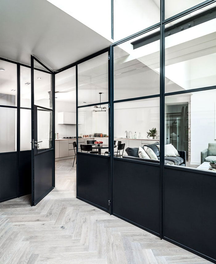 porte-loft-acier-verre