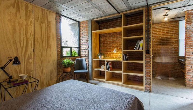 chambre-briques-bois