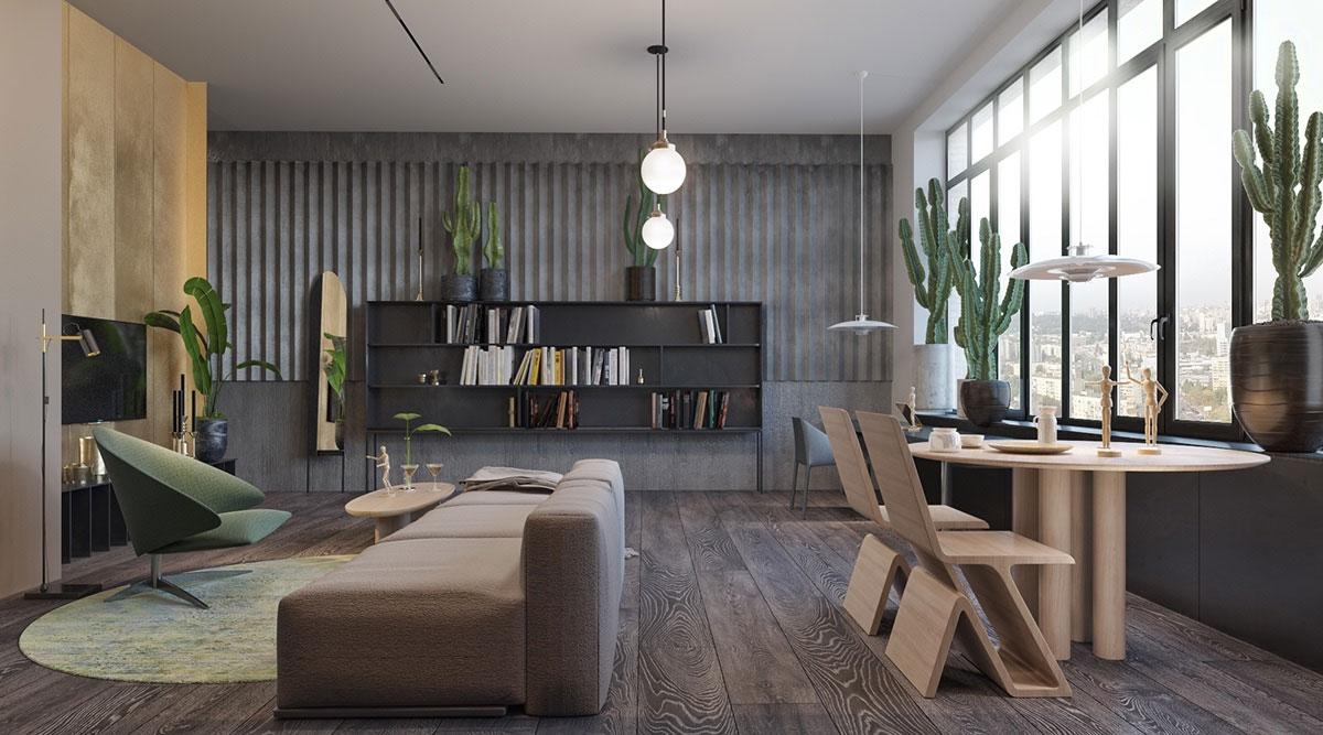 Deco gris id es pour d corer son int rieur avec des tons for Appartement design gris