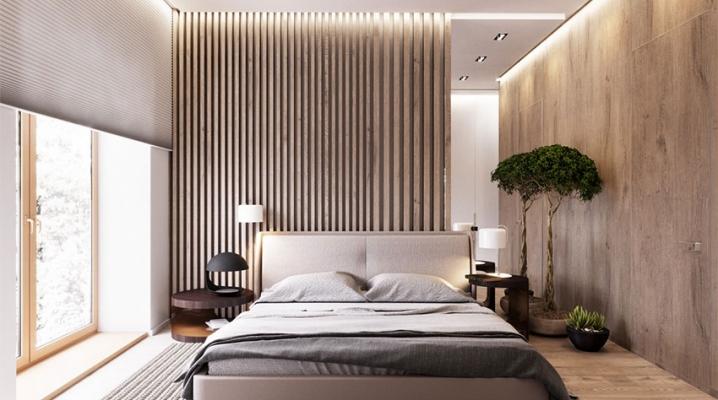 Mur en bois 12 exemples pour d corer votre chambre avec for Chambre design bois