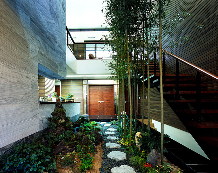 jardin japonais interieur. Black Bedroom Furniture Sets. Home Design Ideas