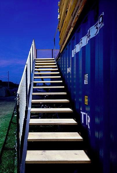 escalier-container