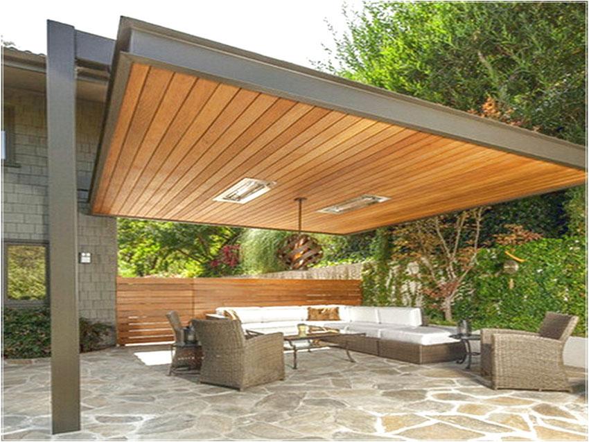 10 id es pour installer un store ext rieur sur votre terrasse. Black Bedroom Furniture Sets. Home Design Ideas