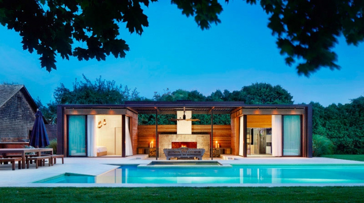 Emejing Pool House Moderne Ideas Joshkrajcik Us Joshkrajcik Us