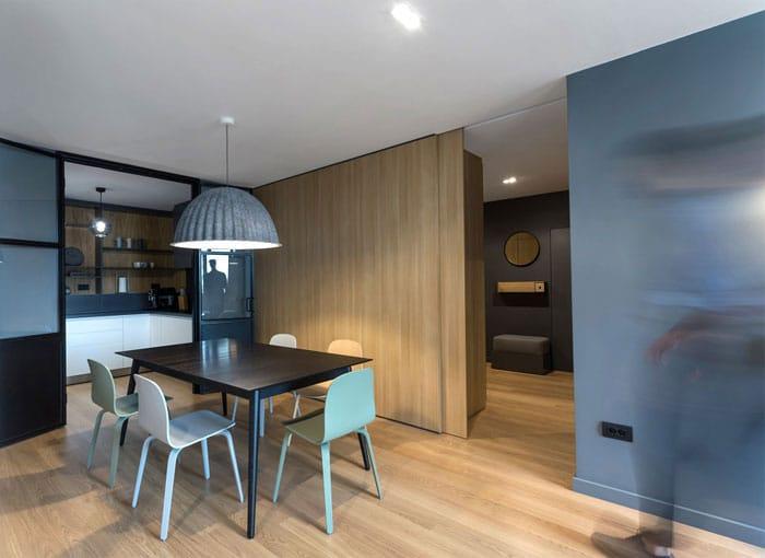 id es pour cr er un appartement modulable avec une d coration moderne. Black Bedroom Furniture Sets. Home Design Ideas