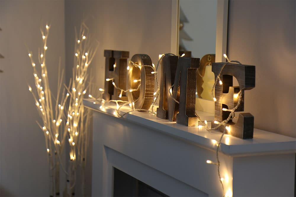 Guirlandes lumineuses 15 id es pour d corer votre maison for Site pour decorer sa maison