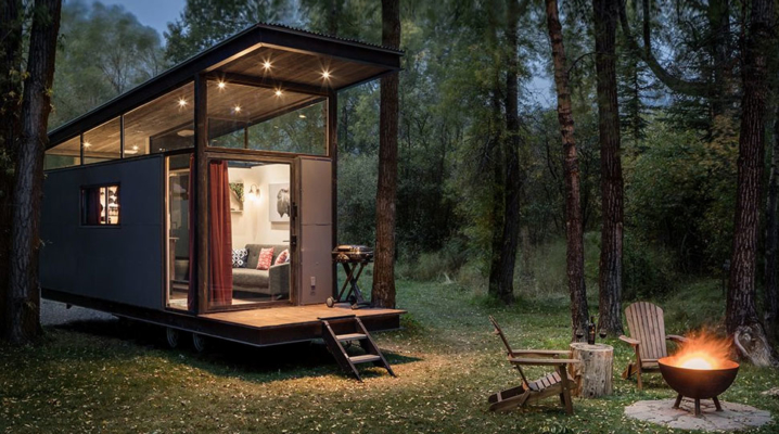 Mobile home design avec un int rieur contemporain for Design my mobile home