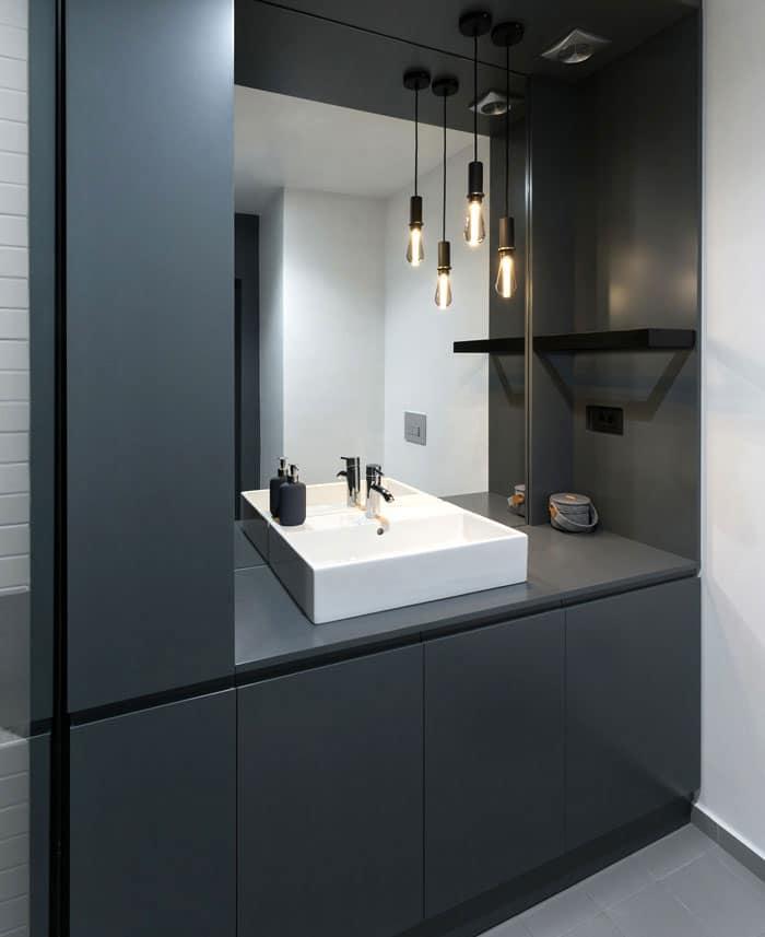salle bains industriel