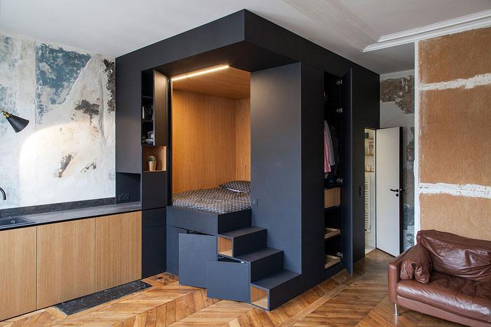Ides Surprenantes Pour Amnager Et Dcorer Un Petit Appartement