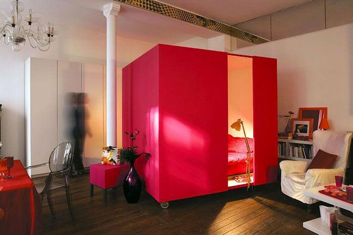 12 id es surprenantes pour am nager et d corer un petit appartement. Black Bedroom Furniture Sets. Home Design Ideas