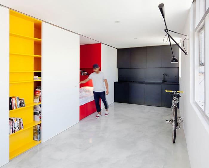 12 id es surprenantes pour am nager et d corer un petit for Flat appartement design