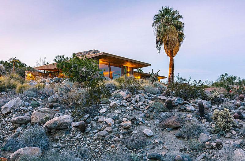 maison-contemporaine-desert