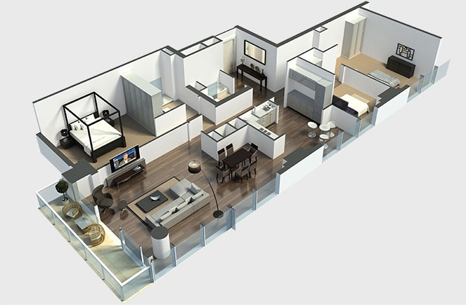 plan-appartement-3chambres