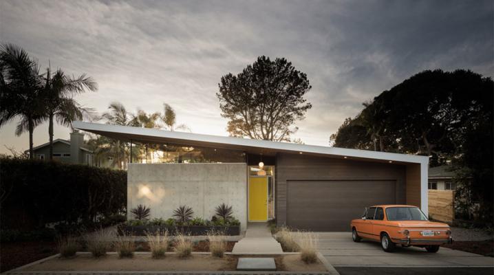 Maison Californienne des années 60 créée par Surfside Projects