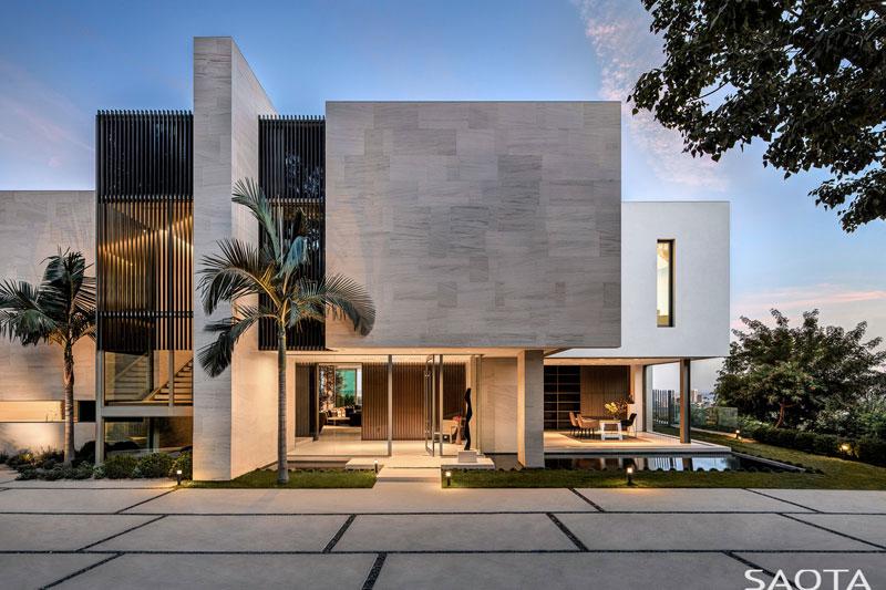 SAOTA réalise sa première maison contemporaine à Los Angeles