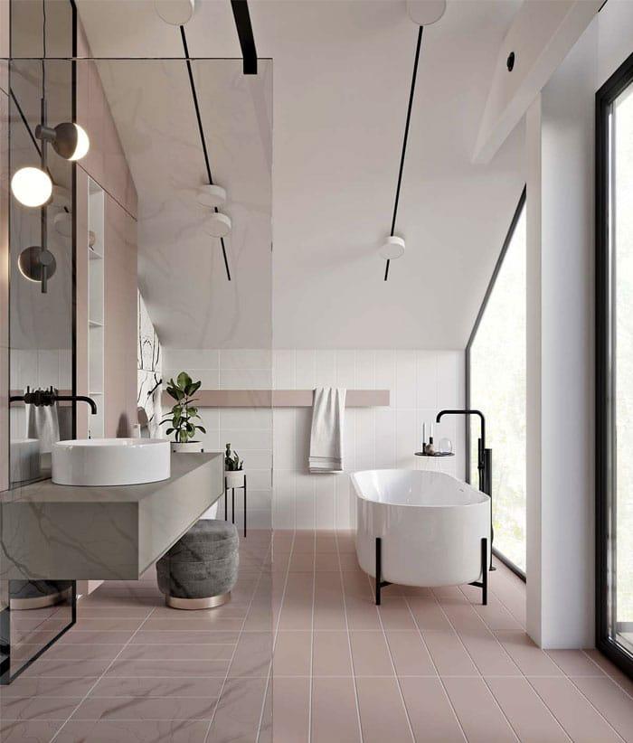 salles de bains tout savoir sur les tendances de salles de bains 2019. Black Bedroom Furniture Sets. Home Design Ideas