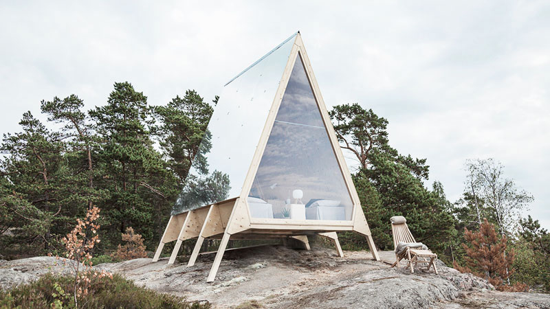 Nolla : La cabane scandinave éco responsable en bois