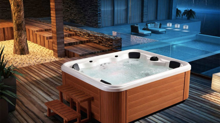 comment choisir un jacuzzi ou un spa pour son jardin. Black Bedroom Furniture Sets. Home Design Ideas