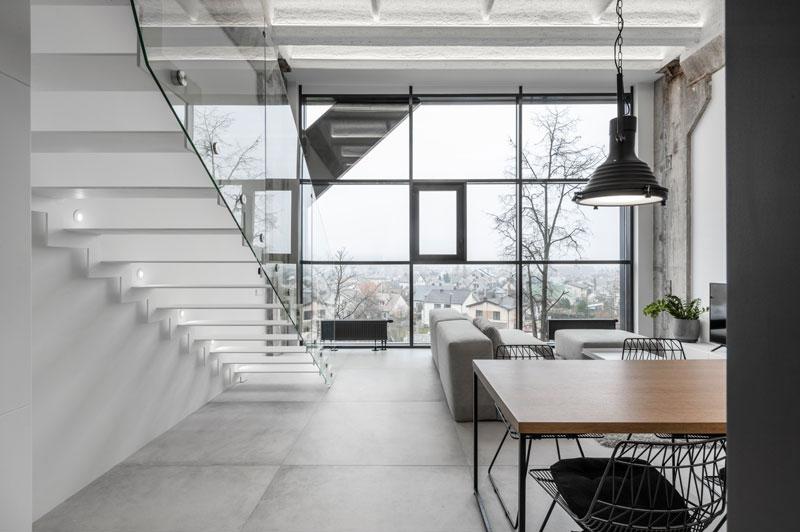 escalier-loft