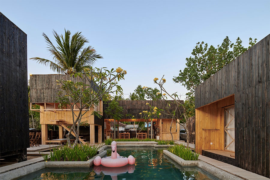 chalets-contemporain-bois-indonesie