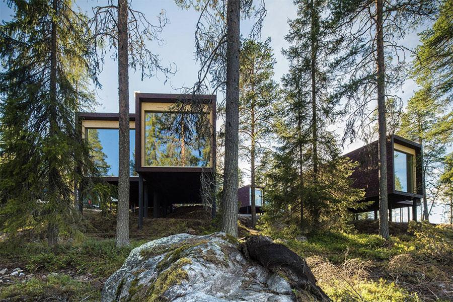 hotel-dans-arbres-laponie