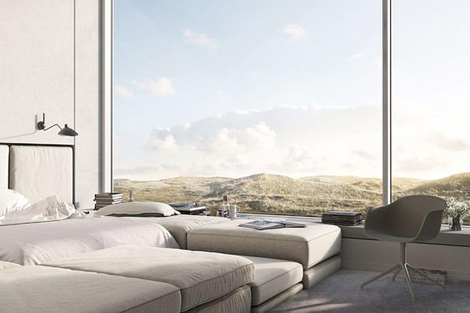 chambre vue panoramique