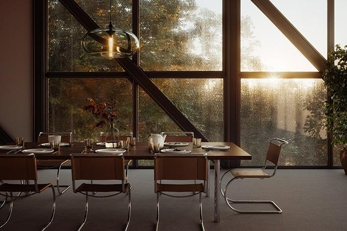 salle-manger-contemporaine