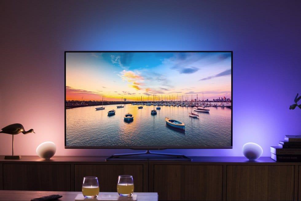 éclairage led derrière télé