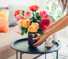 décorer maison fleurs