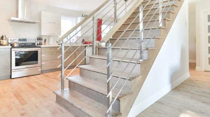 garde corps escalier inox